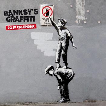 Calendar 2019  Banksy - Graffiti