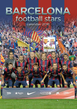 Calendar 2017 Barcelona Football