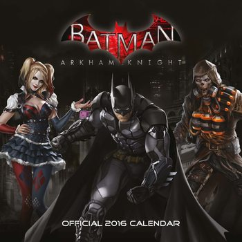 Calendar 2019  Batman: Arkham Knight
