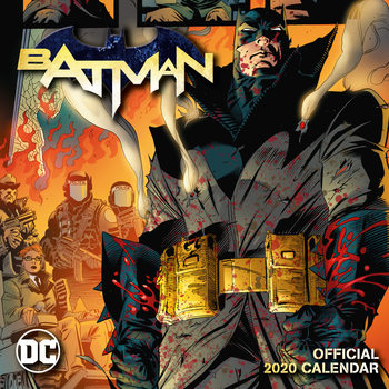 Calendar 2020  Batman Comics