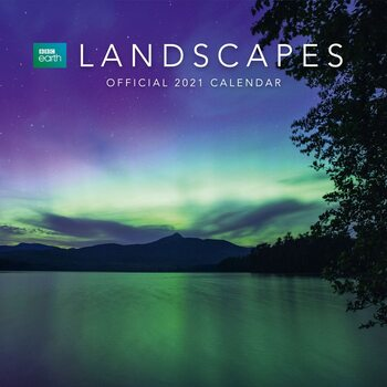 Calendar 2021 BBC Earth - Landscapes