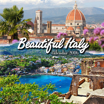 Calendar 2020  Beautiful Italy