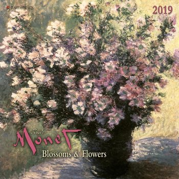 Calendar 2019  C. Monet - Blossoms & Flowers