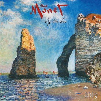 Calendar 2019  C. Monet - By the Sea
