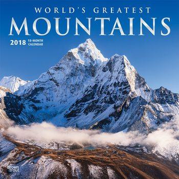 Calendar 2018 Calendar 2018 - Mountains, Worlds Greatest