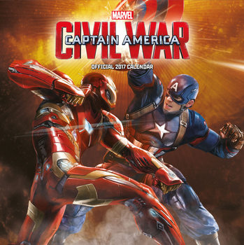 Calendar 2017 Captain America: Civil War