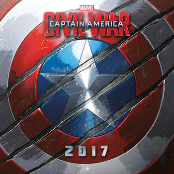 Calendar 2021 Captain America: Civil War