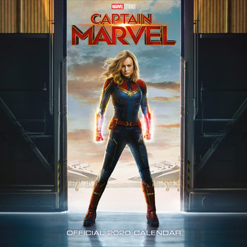 Calendar 2020  Captain Marvel