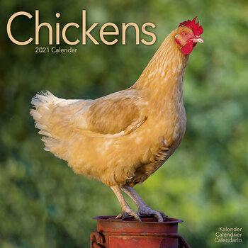 Calendar 2021 Chickens