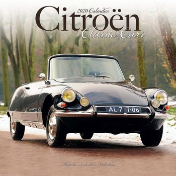 Calendar 2020  Citroen Classic Cars