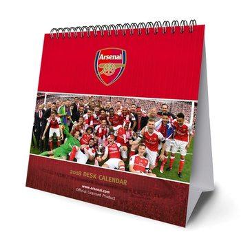 Calendar 2018 Desk Easel 2018 Calendar - Arsenal