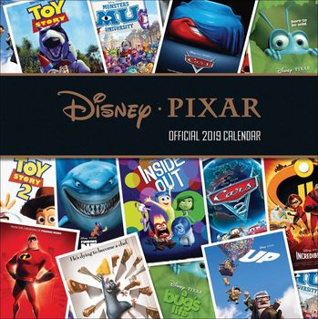 Calendar 2019  Disney - Pixar