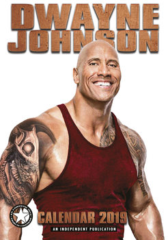 Calendar 2019  Dwayne Johnson
