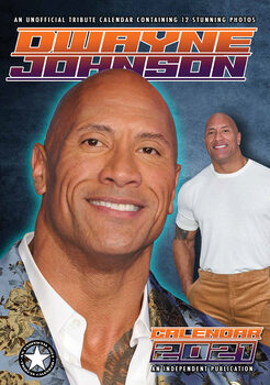 Calendar 2021 Dwayne Johnson