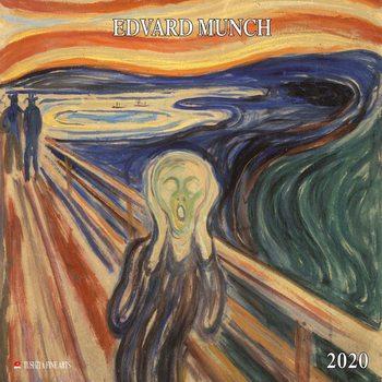 Calendar 2020  Edvard Munch