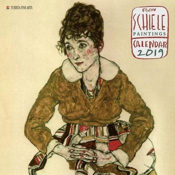Calendar 2019  Egon Schiele - Paintings