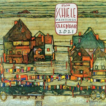 Calendar 2021 Egon Schiele - Paintings