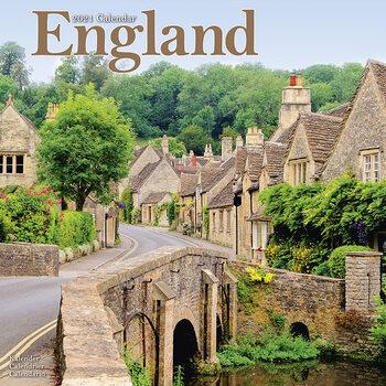 Calendar 2021 England