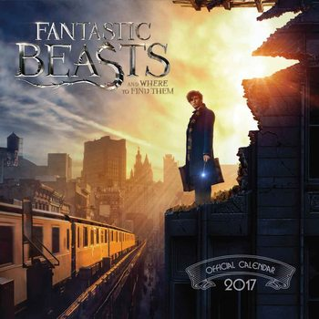 Calendar 2017 Fantastic Beasts And Where To Find Them