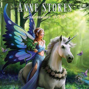 Calendar 2021 Fantasy - Anne Stokes