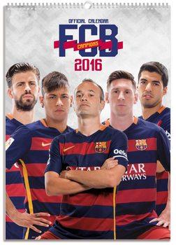 Calendar 2017 FC Barcelona