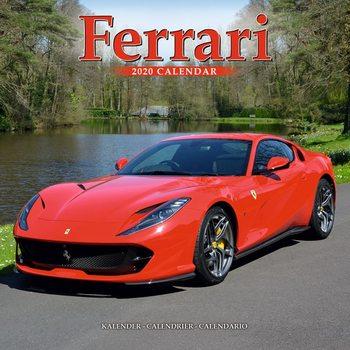 Calendar 2020  Ferrari