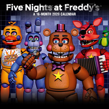 Calendar 2020  Five Nights At Freddys