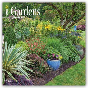 Calendar 2018 Gardens
