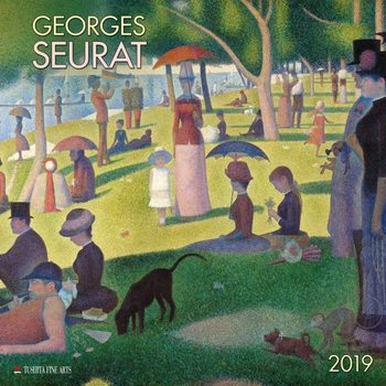 Calendar 2019  Georges Seurat