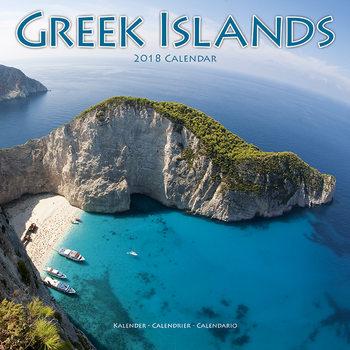 Calendar 2018 Greek Islands