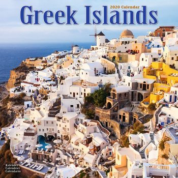 Calendar 2020  Greek Islands