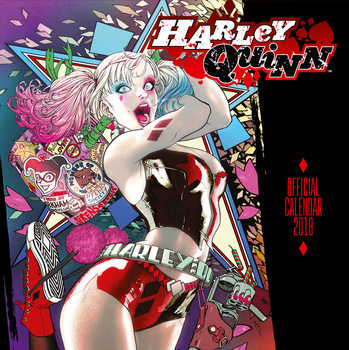 Calendar 2018 Harley Quinn