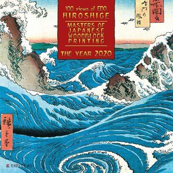 Calendar 2020  Hiroshige - Japanese Wolldblock Painting
