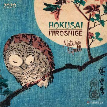 Calendar 2020  Hokusai - Nature
