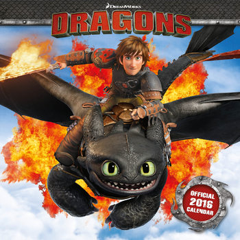 Calendar 2018 How to Train Your Dragon