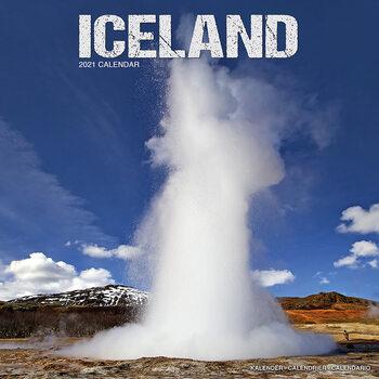Calendar 2021 Iceland