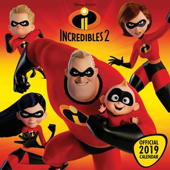 Calendar 2019  Incredibles 2