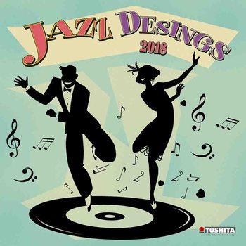 Calendar 2018 Jazz Designs