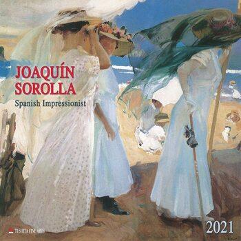 Calendar 2021 Joaquín Sorolla - Spanisch Impressionist
