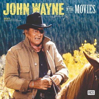 Calendar 2017 John Wayne
