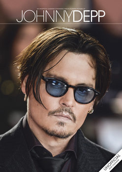 Calendar 2018 Johnny Depp