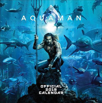 Calendar 2019  Justice League Aquaman