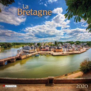 Calendar 2020  La Bretagne