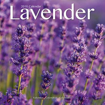 Calendar 2018 Lavender