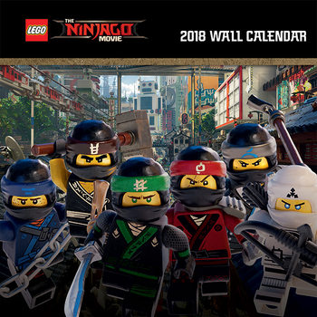 Calendar 2018 Lego Ninjago Movie