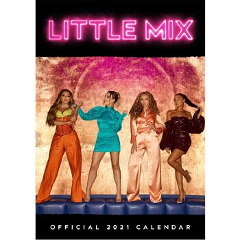 Calendar 2021 Little Mix