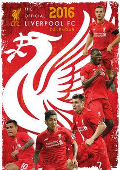 Calendar 2020 Liverpool FC