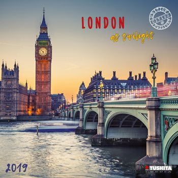Calendar 2019  London at Twilight