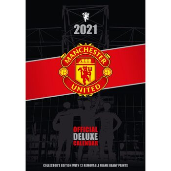 Calendar 2021 Manchaster United FC - Deluxe