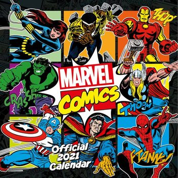 Calendar 2021 Marvel - Comics Classic